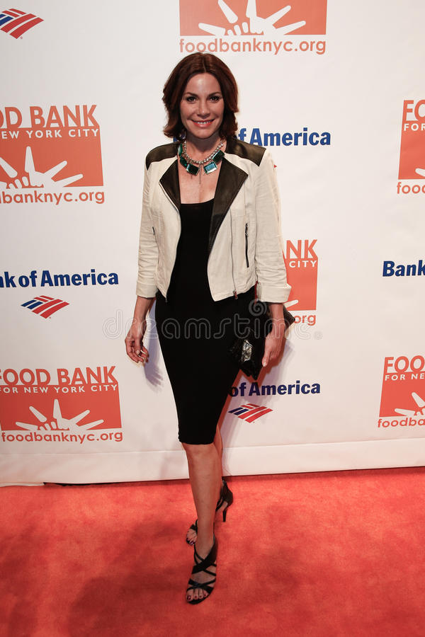 Countess LuAnn de Lesseps. NEW YORK-APR 9: TV personality Countess LuAnn de Lesseps attends the Food Bank for New York City's Can Do Awards Dinner Gala at stock photos