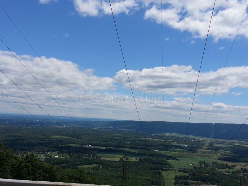 Countey della montagna fotografia stock libera da diritti