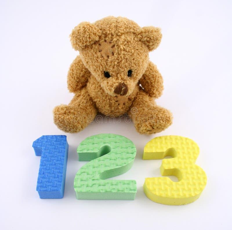 Counting Bear royalty free stock photo