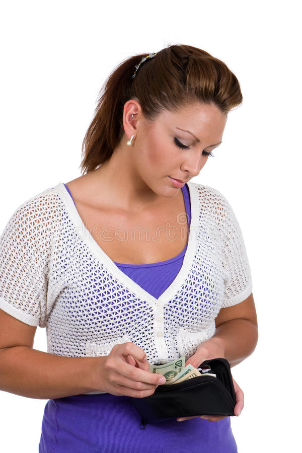 Download Counting Her Money stock image. Image of exchange, monetary - 10914027