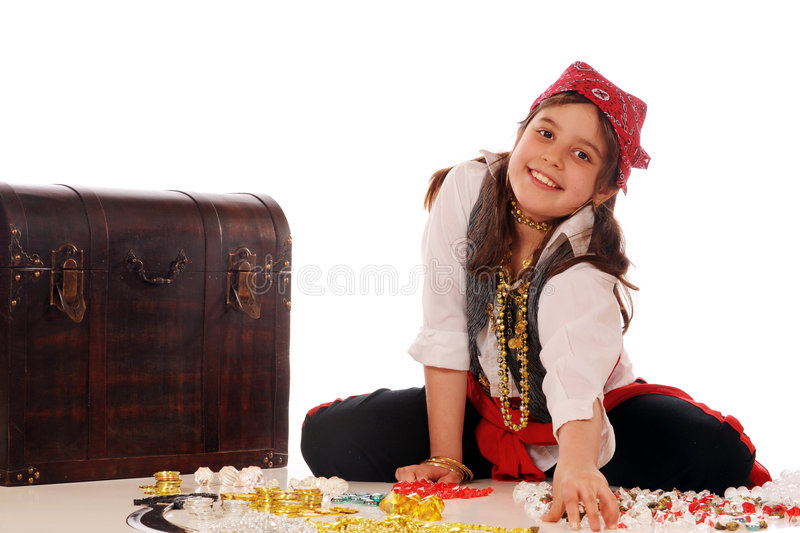Download Counting Jewels stock photo. Image of girl, counting, jewels - 8953054