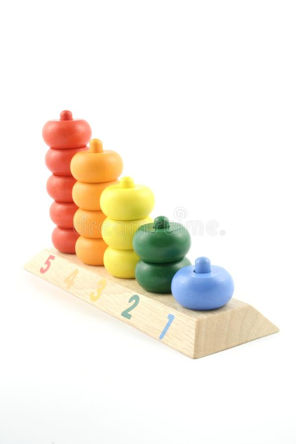 Counting Toy stock image