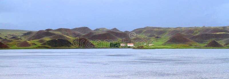Countraside islandês, Islândia norte fotos de stock royalty free