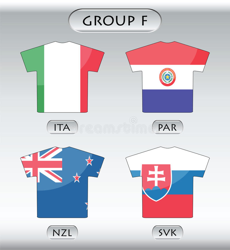 Download Countries icons, group F stock vector. Image of championship - 13248780