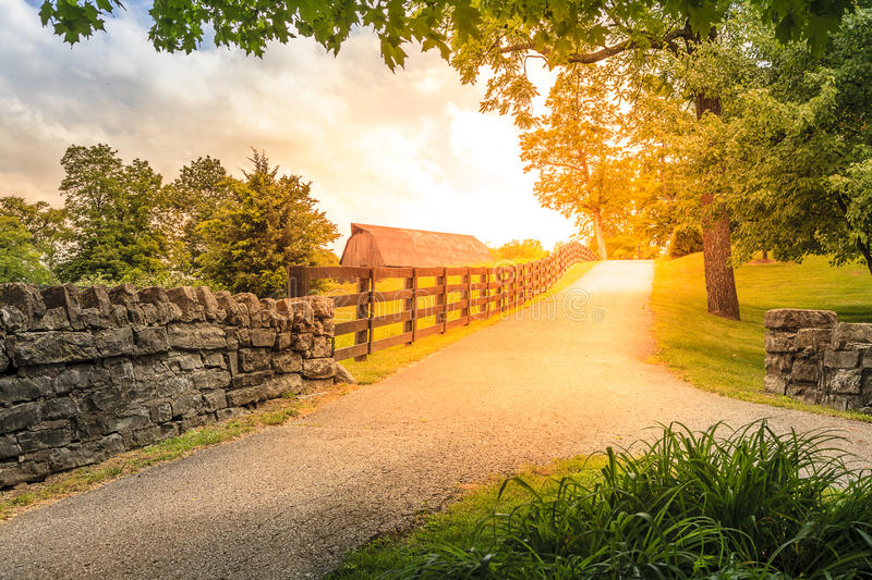 Download Country alley stock image. Image of sunshine, building - 40031047