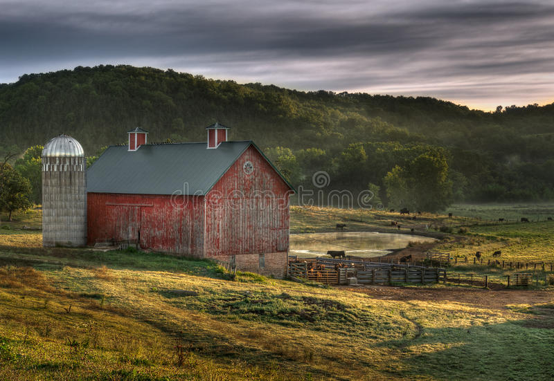 Country Barn stock images