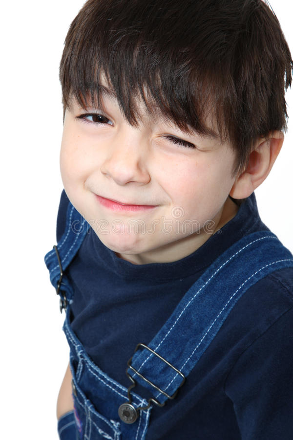 Free Country Boy Wink Stock Image - 11637811