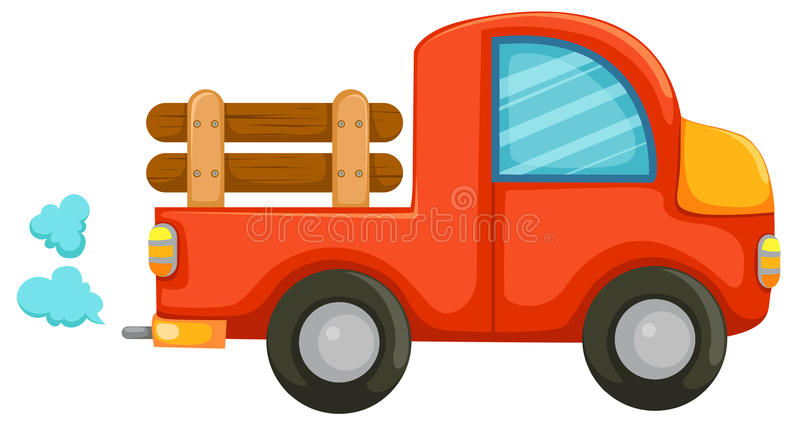 Country car stock illustration
