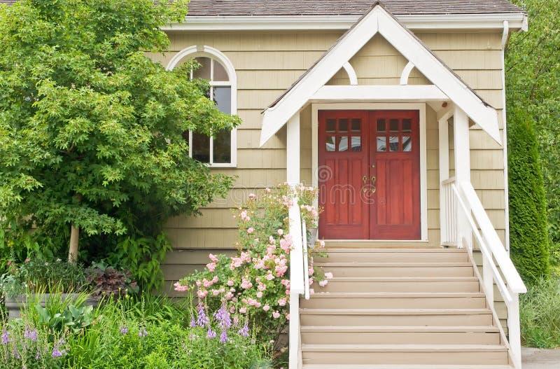 Country chapel doorway
