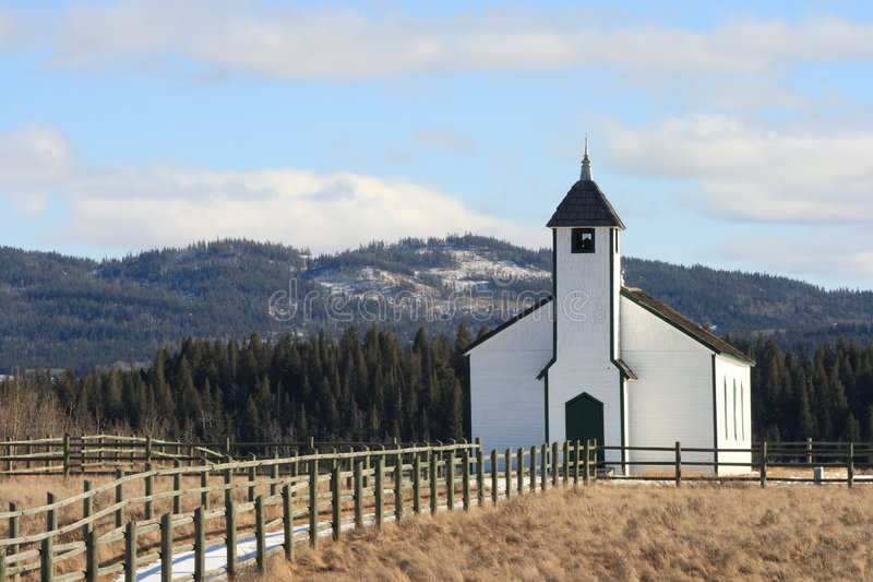 Download Country Church stock image. Image of cross, hills, architecture - 4473481