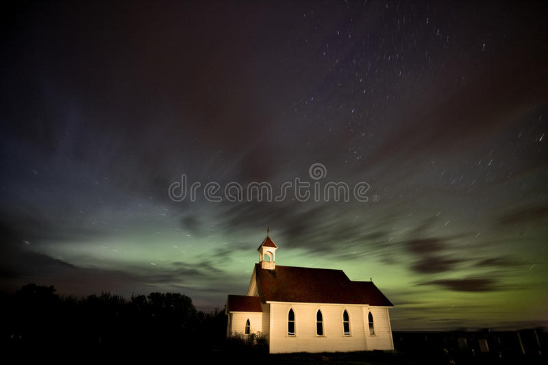 Download Country Church Night Photography Stock Photo - Image of church, castle: 20117370