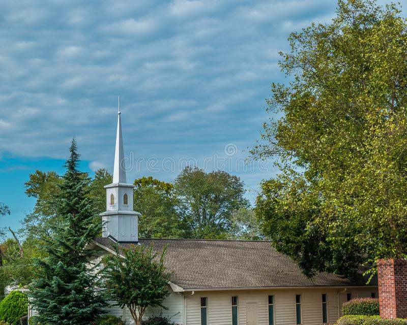 Country church roadside stock images