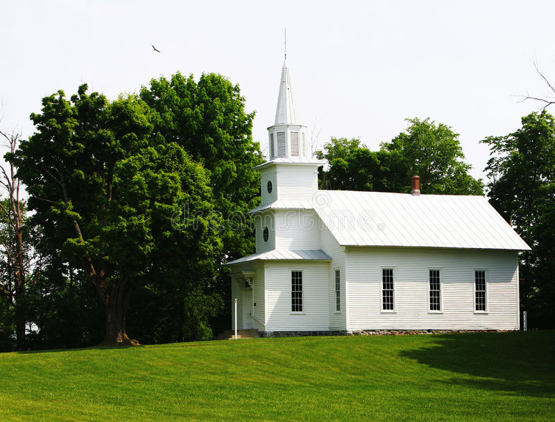Download Country Church Summertime stock photo. Image of peace - 2560636