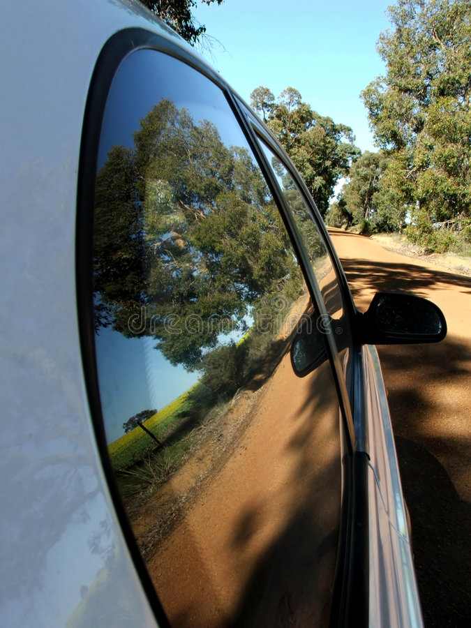 Country Driving royalty free stock images