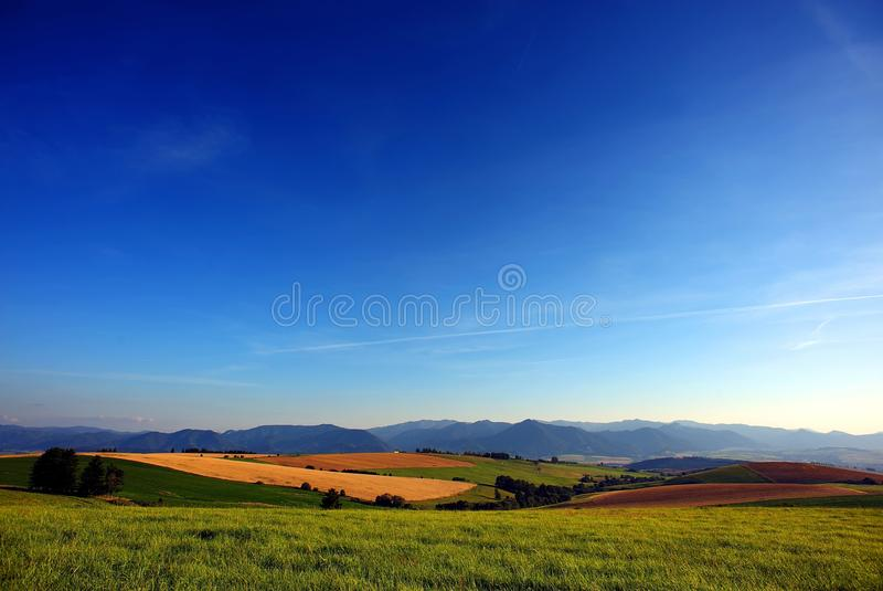 Download Country evening summary stock photo. Image of scenery - 10635138