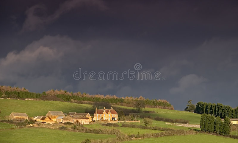 A country farm royalty free stock photo