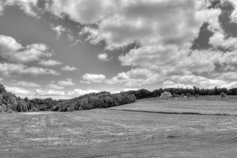 Download Country Farm stock image. Image of countryside, black - 22161125