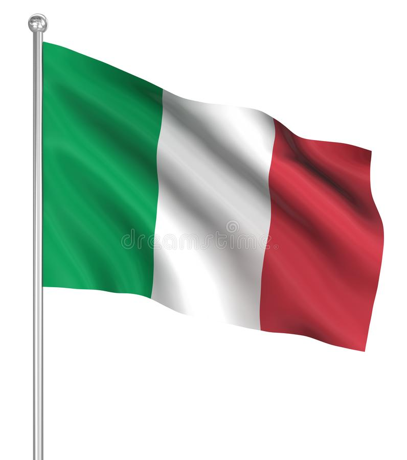 Country flag - Italy stock illustration