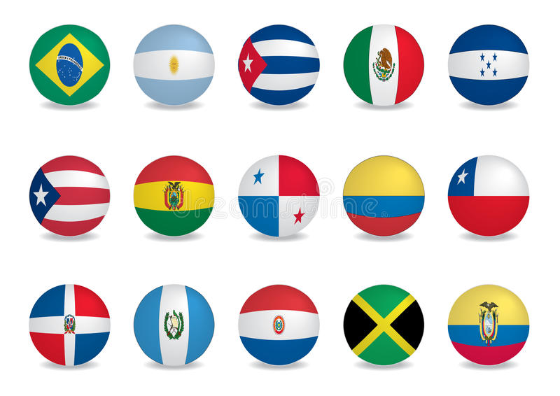 Download Country Flags-south America Stock Vector - Image: 10976929
