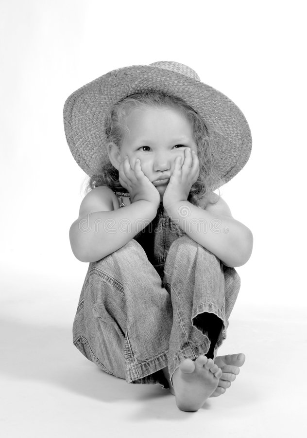 Download Country girl stock photo. Image of blue, daughter, infantil - 1061378