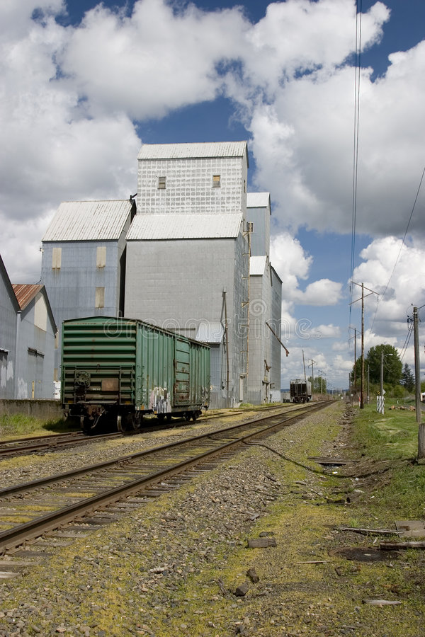 Download Country grain elevator stock photo. Image of market, boxcar - 2303424