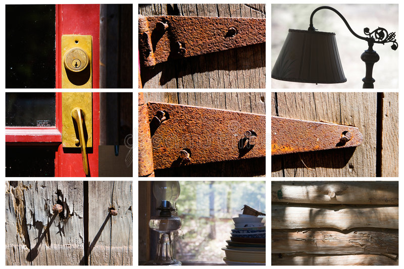 Country Grid royalty free stock images