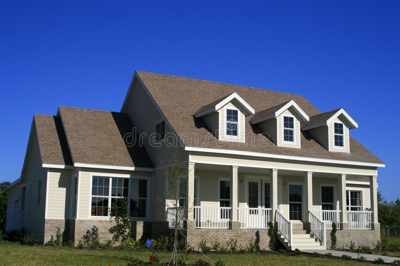 Country Home-American Style royalty free stock photo