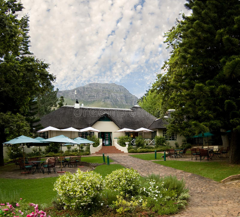 Country hotel royalty free stock photos