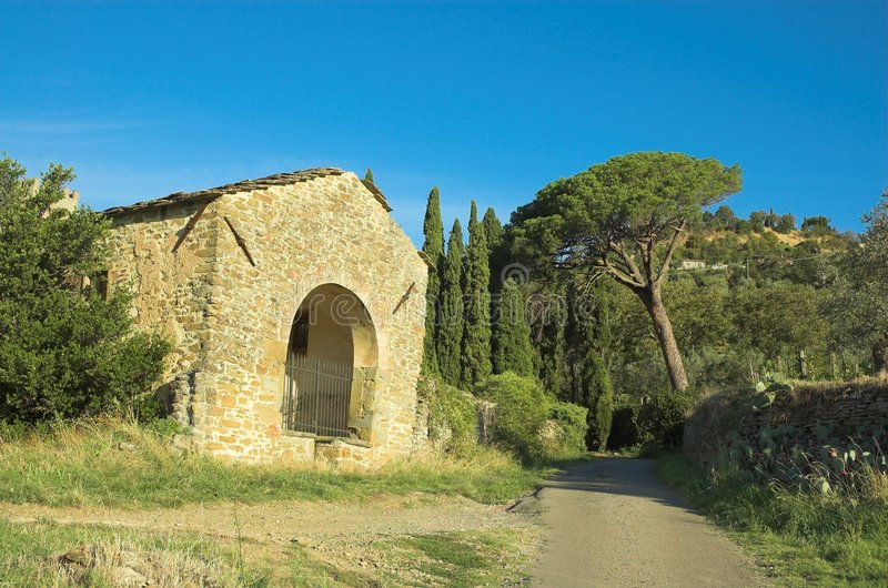 Download Country House In Cortona Stock Photos - Image: 1410783