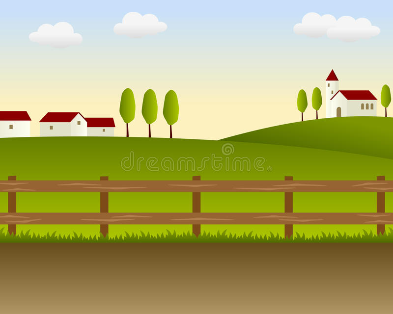 Download Country Landscape [1] stock vector. Image of country - 16816959
