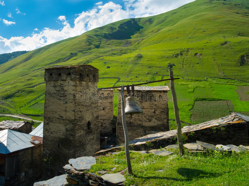 Download Country Landscape In Svaneti Stock Image - Image: 32735831