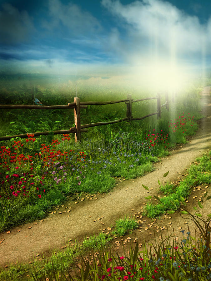 Free Country Lane 1 Royalty Free Stock Photography - 14664787