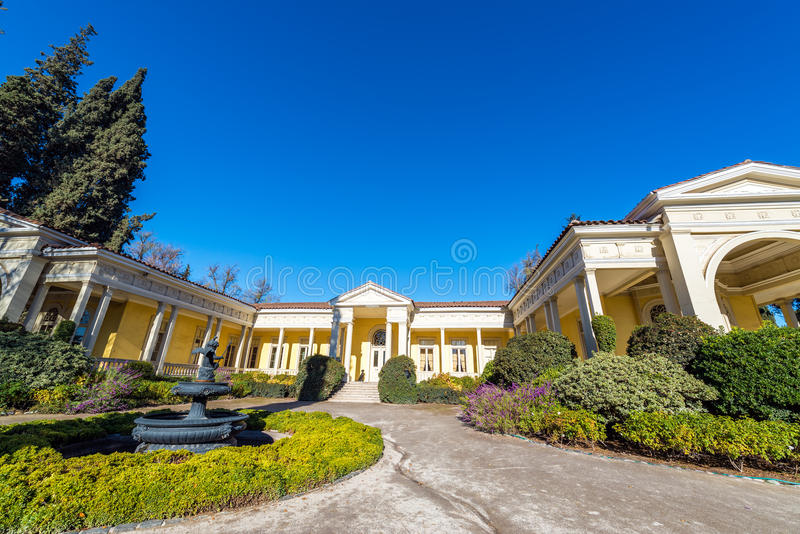 Country Mansion royalty free stock image