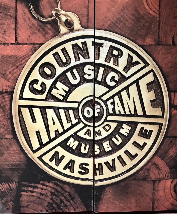 Country music hall of fame stock photos