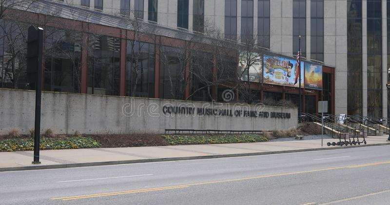 Country Music Hall of Fame and Museum, Nashville, Tennessee stock images
