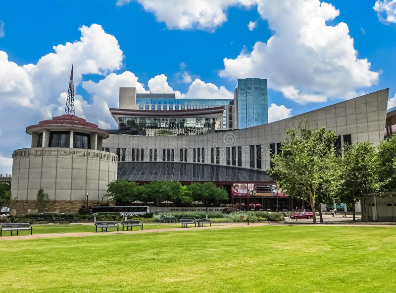 Country Music Hall of Fame - Nashville, TN stock photography