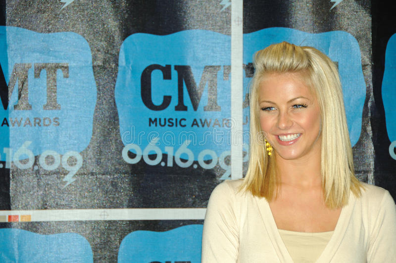 Country Music and television star Julianne Hough royalty free stock photo