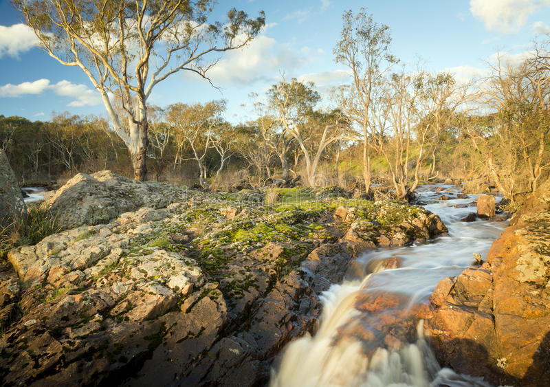 Country River stock photo