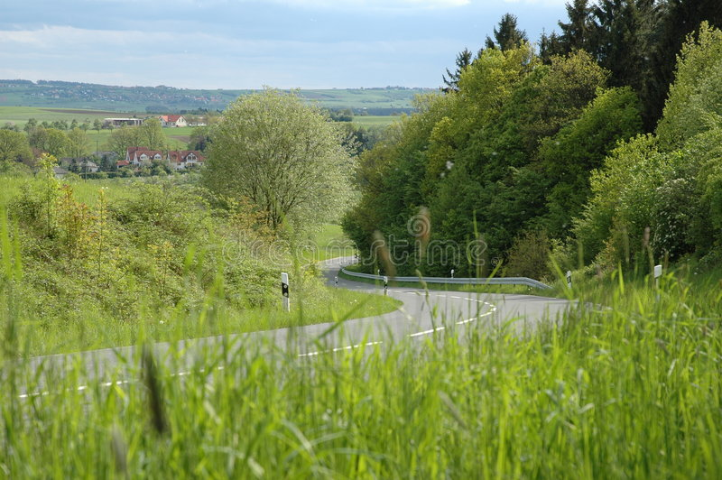 Download Country road stock image. Image of traffic, grass, streets - 2901