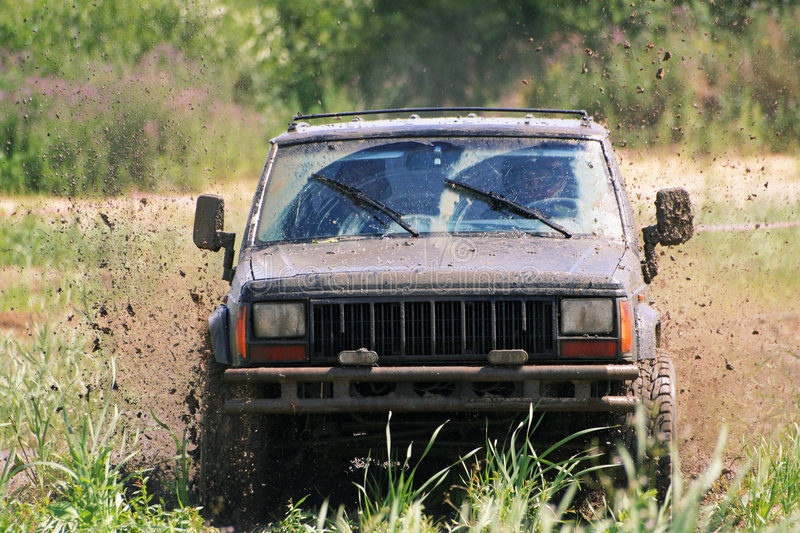 Download Country road stock photo. Image of dirt, challenge, driver - 1640584