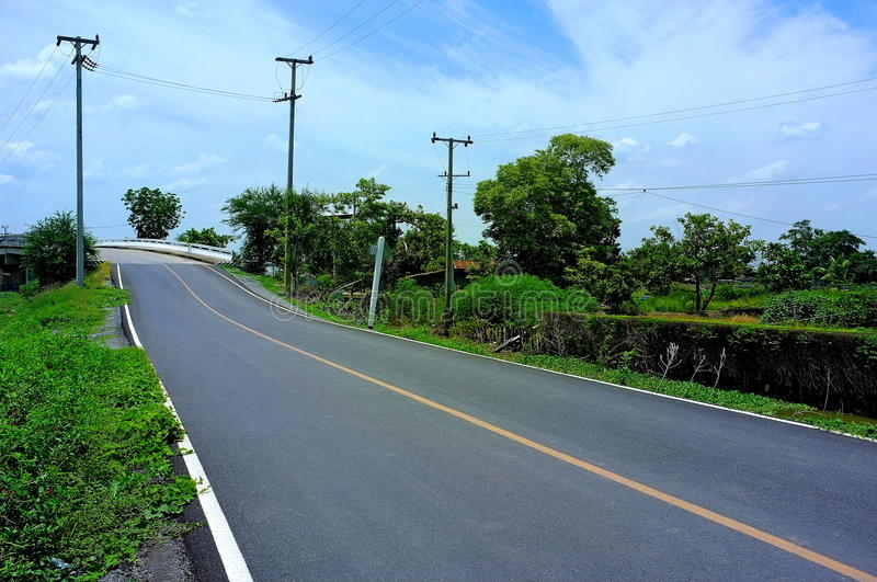 Download Country road stock image. Image of lanes, road, country - 25503451