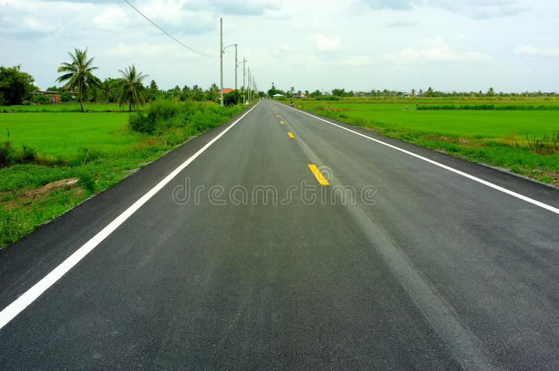 Download Country road stock image. Image of rural, lanes, freedom - 25503717