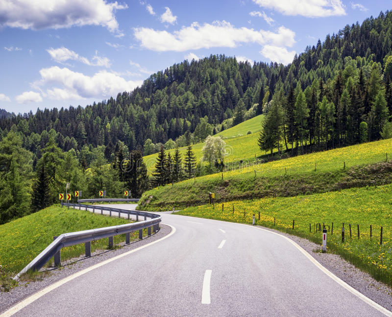 Download Country road stock image. Image of color, idyllic, curve - 36403225
