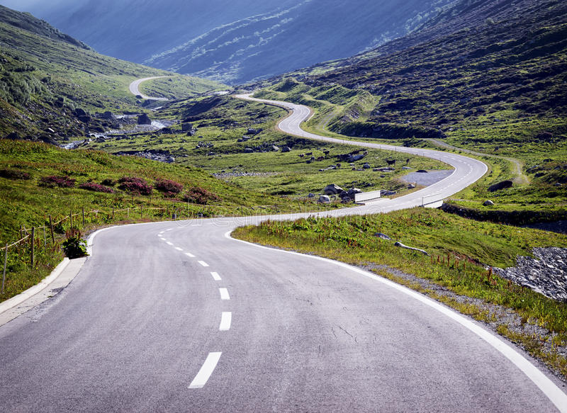 Download Country road stock photo. Image of looking, hill, dividing - 36563748