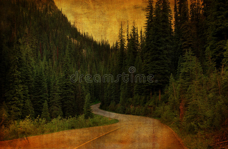 Download Country Road Grunge stock illustration. Image of view - 21477321