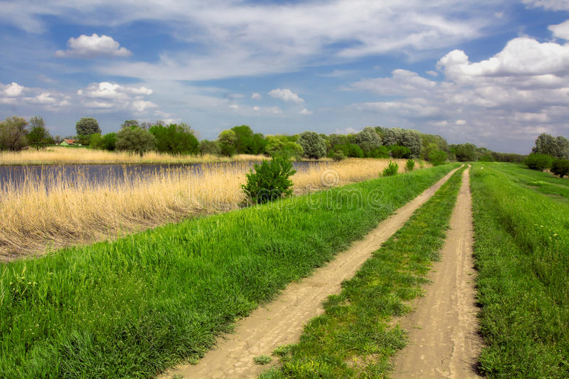 Download Country Road stock image. Image of green, land, horizon - 30722865
