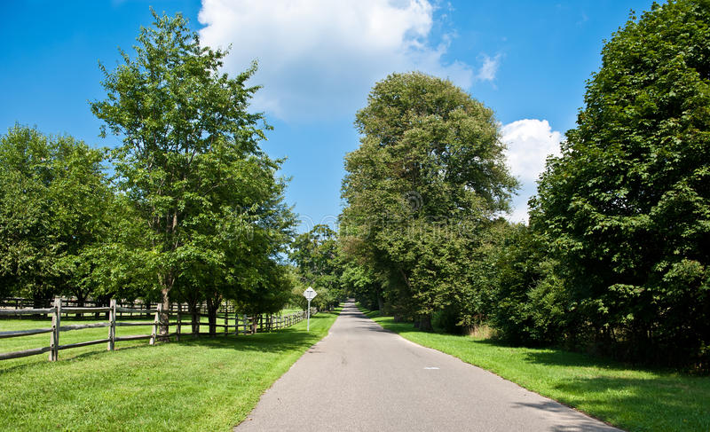 Download Country Road On A Sunny Day Stock Image - Image: 20824423