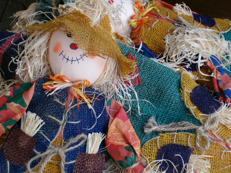 Download Country Scarecrow stock photo. Image of craft, straw, sleep - 469138