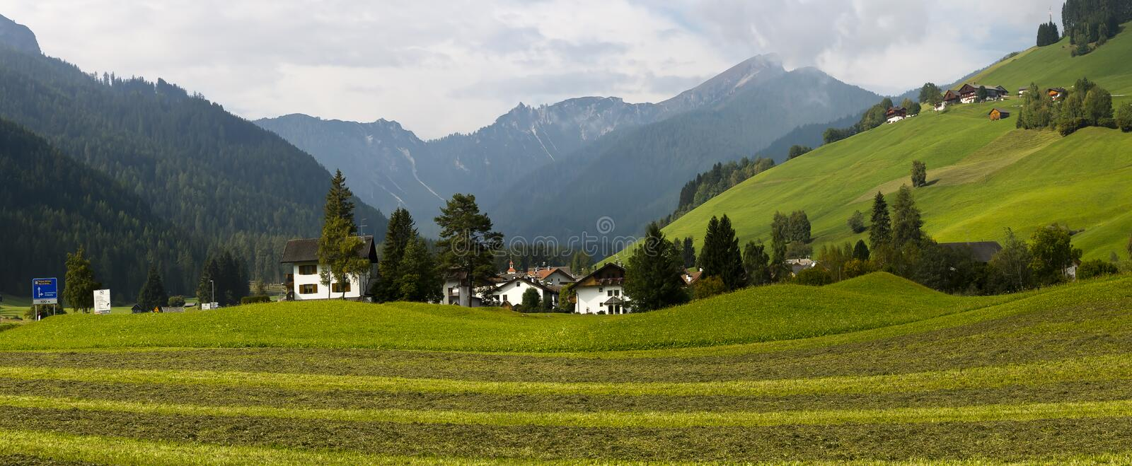 Country side landscape, Italy stock photos