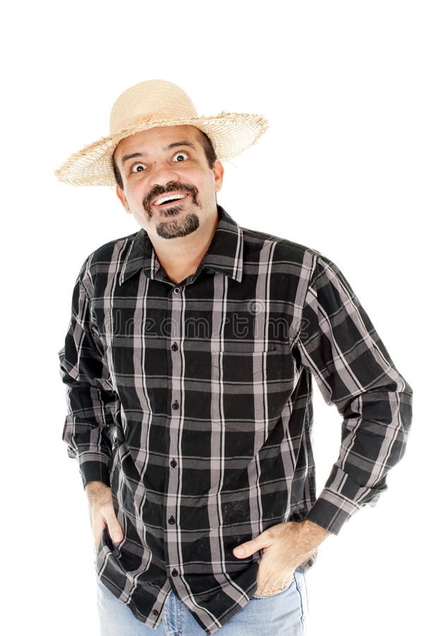 Country side man stock images